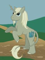 MLP: Rampant Kirin by EnigmaticElocution