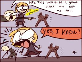 Dragon Age: Inquisition, doodles 1 by Ayej