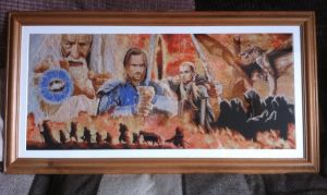 Lord of the Rings Cross Stitch by Nevermind1977