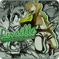 Rivaille ID by xKaruDesu