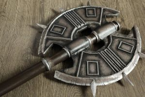 Cosplay Props: Axe of Sankis by LittleBlondeGoth