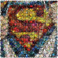 Superman Mosaic by Cornejo-Sanchez