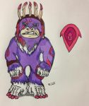 Wild Colored Primate by Alphalionleader