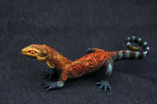 Large fire lizard by hontor