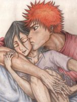 Ichiruki hug by peca06
