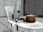 MMD Portal - Turret with Some Cake by MMDCharizard