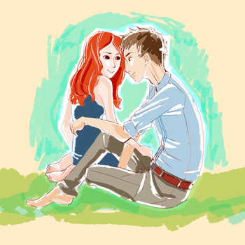 picnic with rory and amy by ambrosing