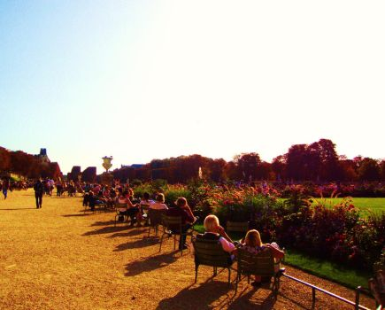 jardin de luxembourg by eloyimpressions