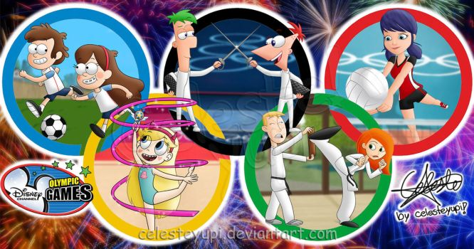 Disney Olympic Games by celesteyupi