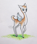 Fairy Deer by white2fire