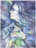 My escape by wolf-minori