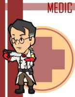 TF2 Chibi Red Medic by Fir3Ph03n1X
