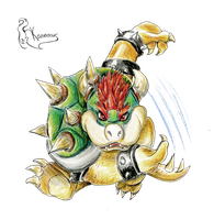 Bowser by Kanis-Major