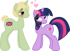 Twilight and England by Petalierre