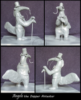 Angelo the Dapper Anteater - Maquette by comixqueen