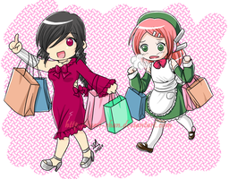 Shopping - Camila and Momo by yesi-chan