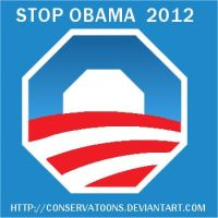 Stop Obama 2012 by Conservatoons