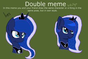 Double Meme by pinkraindrops03