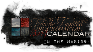 Female Fronted 2014 Calendar by brockscence