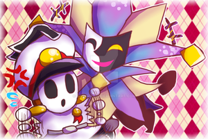 General Guy and Dimentio by Ansishoku