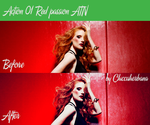 Chiccaherbana-01- Red Passion by chiccaherbana