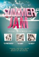 Summer Jam Flyer / Videoflyer by stockgorilla
