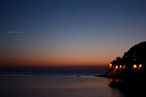 after sunset by pLateauce