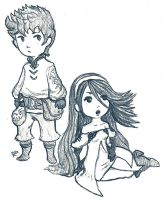 Tiz and Agnes by EmperorAtma