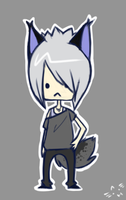 chibi-commish: rayxray by hykari