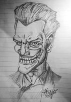 The Joker Sketch by styj