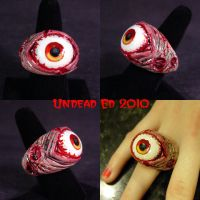 Rot Ring Severe Rot Red eye by Undead-Art