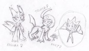 SS Team-The rest of the female by Sonic-chaos