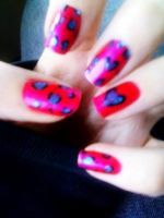 Leopard Print Hearts by SuicidalxEmbrace