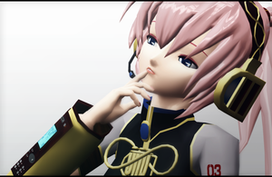 _MMD_ Let me think about it.. by xXHIMRXx