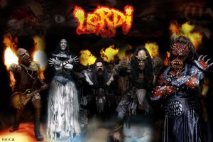 Lordi wallpaper by KittiiKat