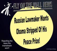 Russian Lawmaker Wants Obama Stripped Of His Peace by IAmTheUnison