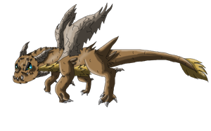 Rock-Dragon Fakemon by SuperSonicFireDragon