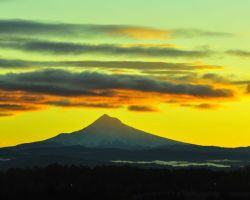 Mount Hood At Dawn by flatsix911