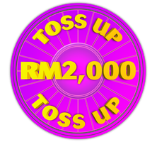 Wheel of Fortune - RM2,000 Toss Up Icon by darellnonis