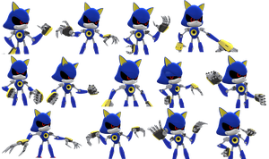 Metal Sonic Mugshots by Nibroc-Rock