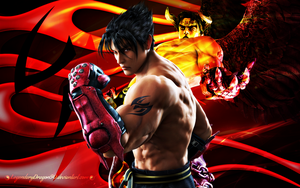 Jin Kazama by LegendaryDragon90