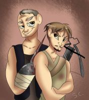 The Dixon Brothers by RenaXbones96