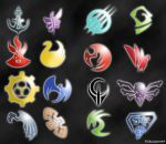 Storm Hawks Logos and squadrons by frikineitor143