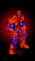Spidey By Hulk Daddy G Colored by ToneyHadnotJr