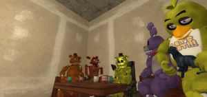 [FNaF GMod] Therapy Time with Golden Freddy by XGorillazGirlX