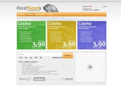 HostSean.com Design by TheDrake92