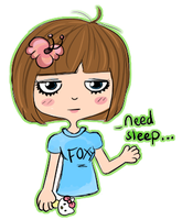 I need sleep.. by sanxi