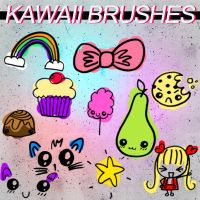 Kawaii Brushes. by itsreality