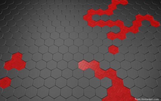 Hexwall red wallpaper pack re-up by FIYAS