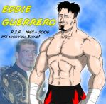 Tribute Pic to Eddie Guerrero by WWEfans